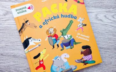Zvuková knížka Packa a africká hudba