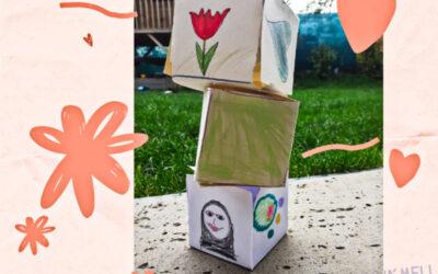 Tvoření s dětmi pro maminku – krabička